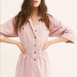 Free People Hazel Shirt Dress